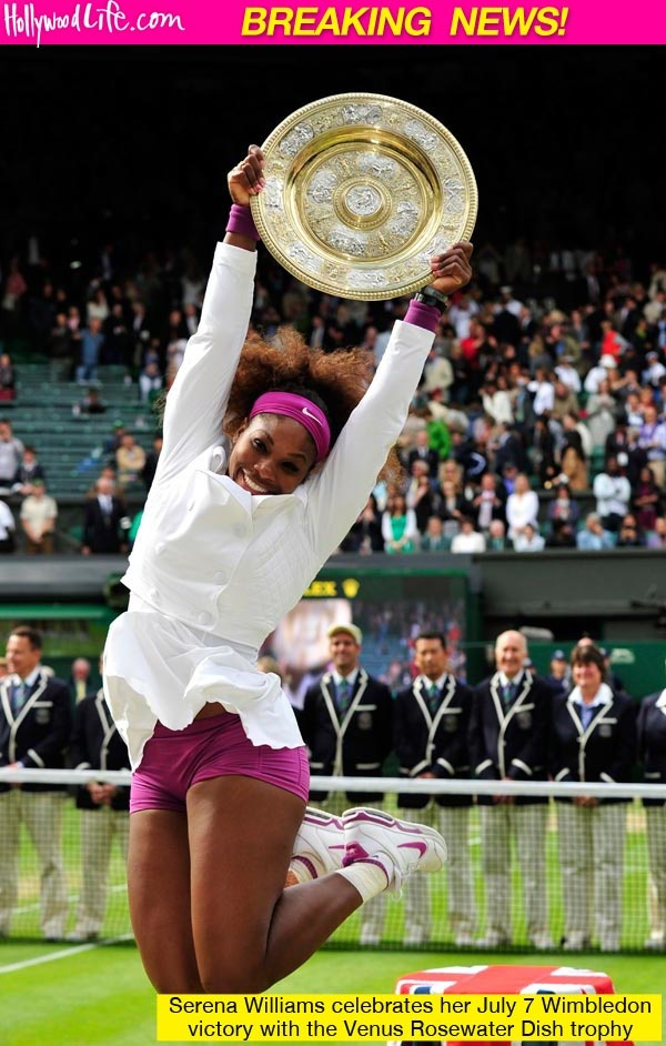Congratulations! Serena Williams Wimbledon Win. Adversity hits us all.