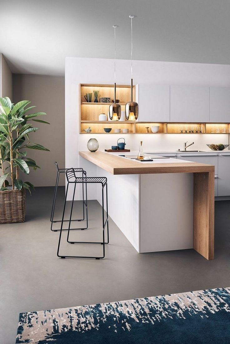 37+ Beste moderne Küchenideen, von denen Sie träumen (+ DIY-Tipps) #Küchenschränke …