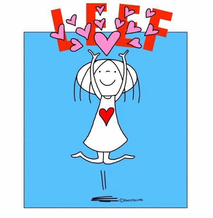 LEEF...in hoofletters!! (Voluit) #Afrikaans #Rules2LiveBy