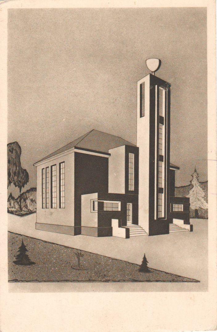 Kužel, Josef - Sbor J. A. Komenského v Čachovicích (Assembly of J. A. Komenský in Čachovice) (1935-1936)