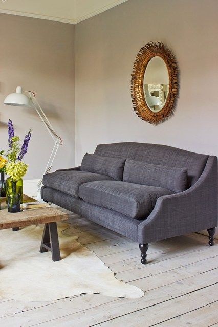 Grey Sofa - Living Room Furniture & Designs - Decorating Ideas (houseandgarden.co.uk)