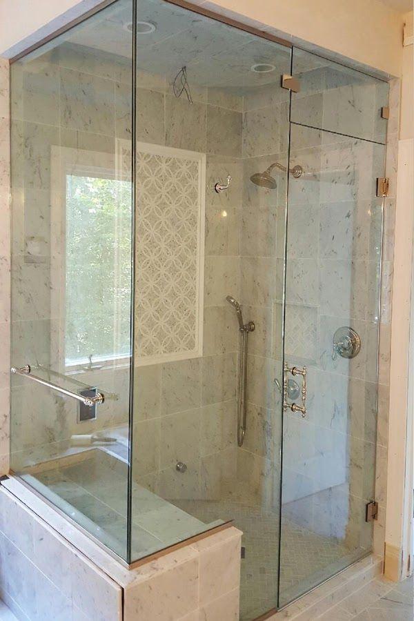 steam-frameless-shower-door-corner-seat – Shower Door Experts ...