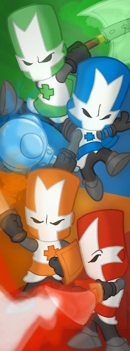 "Castle Crashers 10x27"" Poster by StacMaster-S.deviantart.com on @DeviantArt"