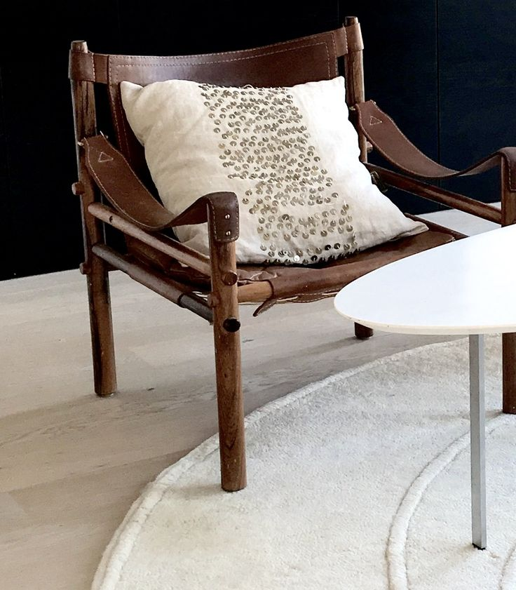 Safari chair from Norell, cushion from Day