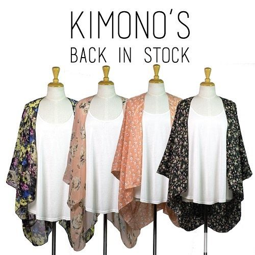 Ooh la la we have updated our online shop and these gorgeous kimonos are now in stock!!! Yay! #Instafeed #fashion #kimono #wedopretty #australianfashion #australianmade #handmade #rogerandpeach #shopping