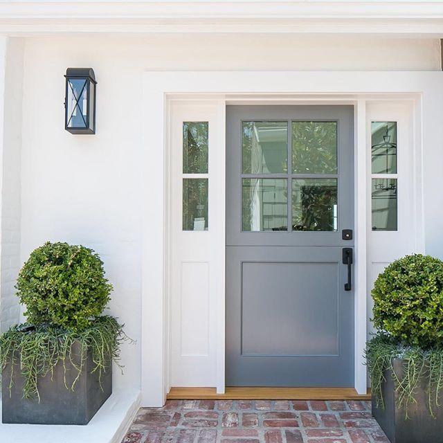Simple Entryway With Dutch Door.
