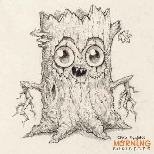 More spookiness for Halloween!#morningscribbles