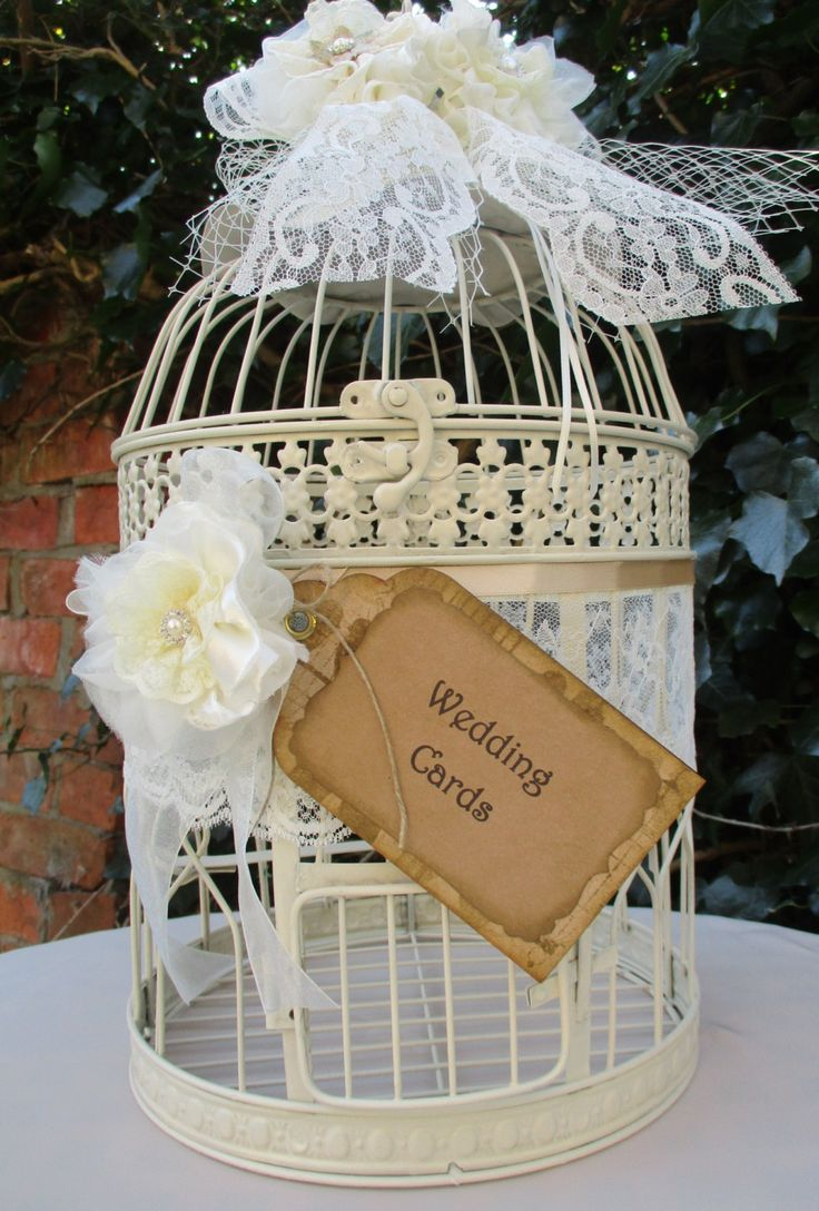 41 Best Birdcage Wedding Card Holders Images On Pinterest Birdcage