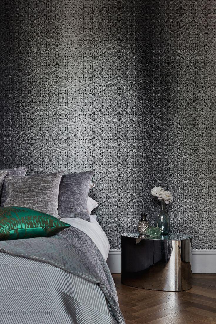 Dark hallway wallpaper  Eminence Wallpaper   House Idea Projects  Pinterest