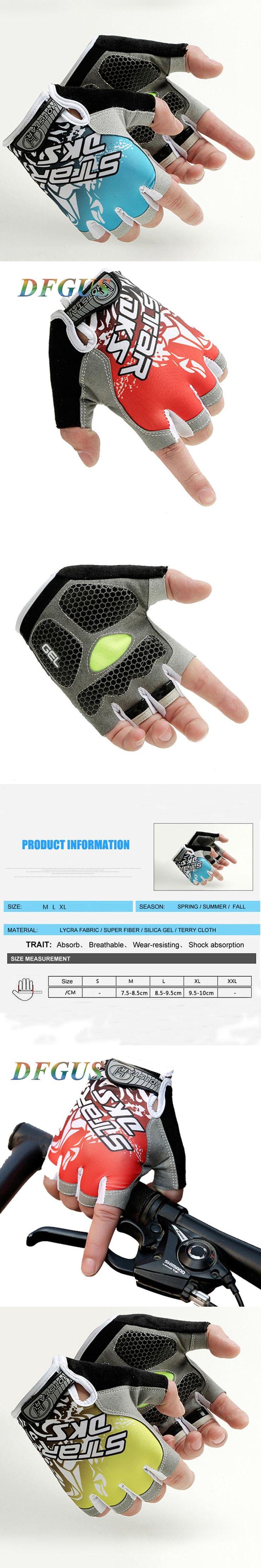 Men Fitness Gym Glove Weight Lifting Gloves Women Half Finger Body Building Sports Training Luva Outdoor Ridding Gloves