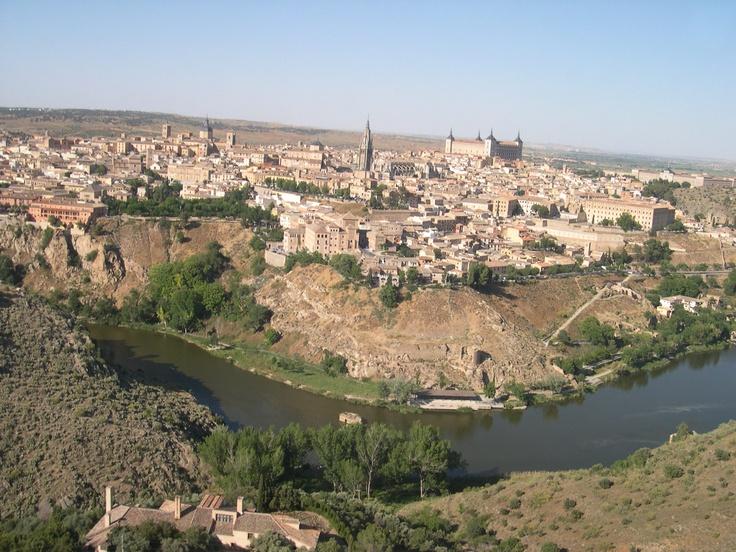 Toledo desde el aire...