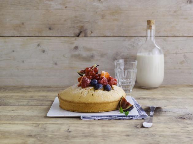 Een smaakvol taartje met Alpro Sojadrink Original