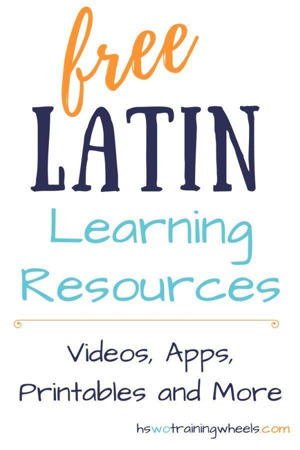 Learn latin online free