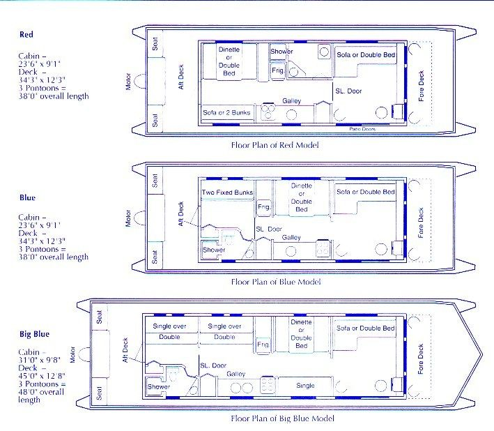 House Boat Plans To Live The Idyllic Life On The Water House Boat Boat Building Plans Boat House Interior Yacht house floor plan