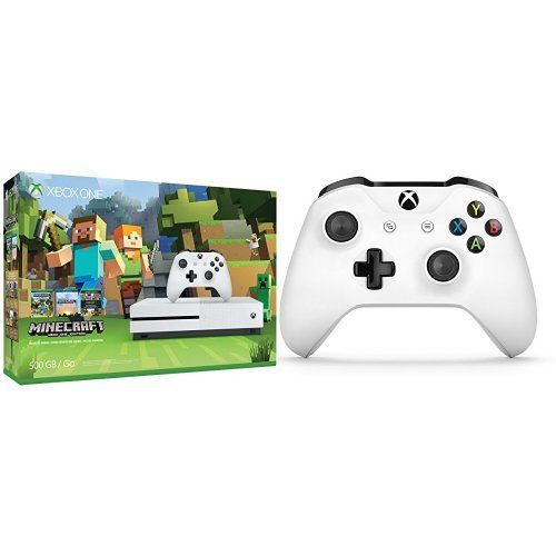 Xbox One S 500GB Console – Minecraft + Extra Controller Bundle #deals