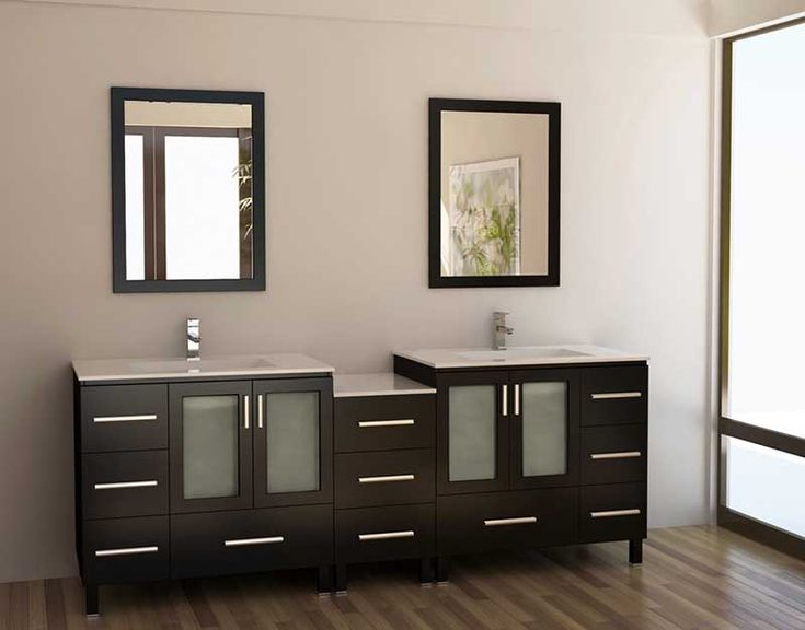 Double Bathroom Vanity Ideas 22 best bathroom vanity cabinets ideas images on pinterest