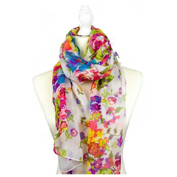 The Indra Scarf Fun, funky and flirtatious, this fabulous scarf will brighten up even the dullest of winter days.