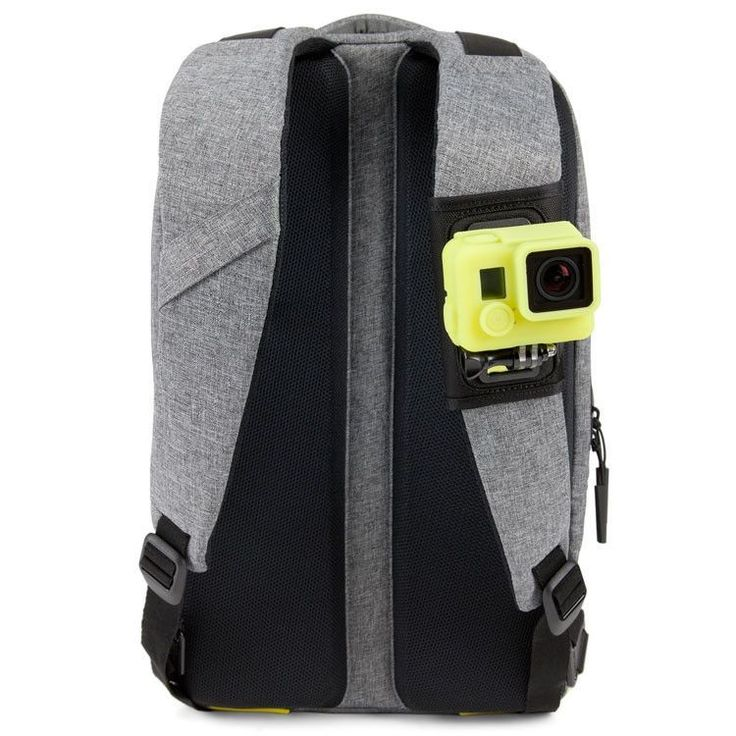 Durable ballistic nylon, heavy-duty Velcro and a high-strength plastic mounting surface secure your GoPro HERO camera while you drop into the bike park, run through the halfpipe or begin your expedition into the Sahara.