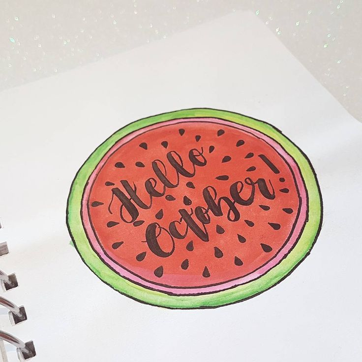 Hello October!!!🍉🍉 Sorry for the late post!! My weekend has been pretty hectic. 😊 Read more about it on my site. 😊     #bulletjournal #bulletjournaling #bulletjournalcommunity #bujo #bujolove #bujolove #bujojunkies #bujoweeklyspread #moderncalligraphy #handlettering #handwriting #handletteringpractice #calligraphy #calligraphylove #handletteringbeginner #markerart #marker #crayola #penteltouchpen #crayolasupertips #springbujo #spring #watermelon #weeklyspread...