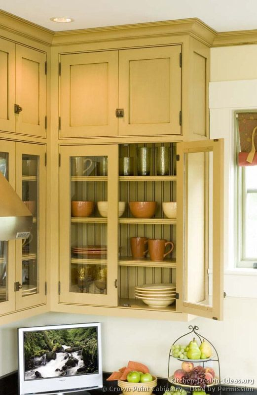glass cabinets with beadboard back - Glass Cabinet Doors