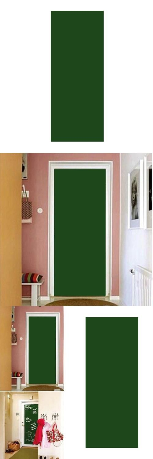 [Visit to Buy] GSFY!Vinyl Chalkboard Wall Stickers Removable Blackboard/Greenboard/Whiteboard whiteboard sticker paper With Gift Green #Advertisement