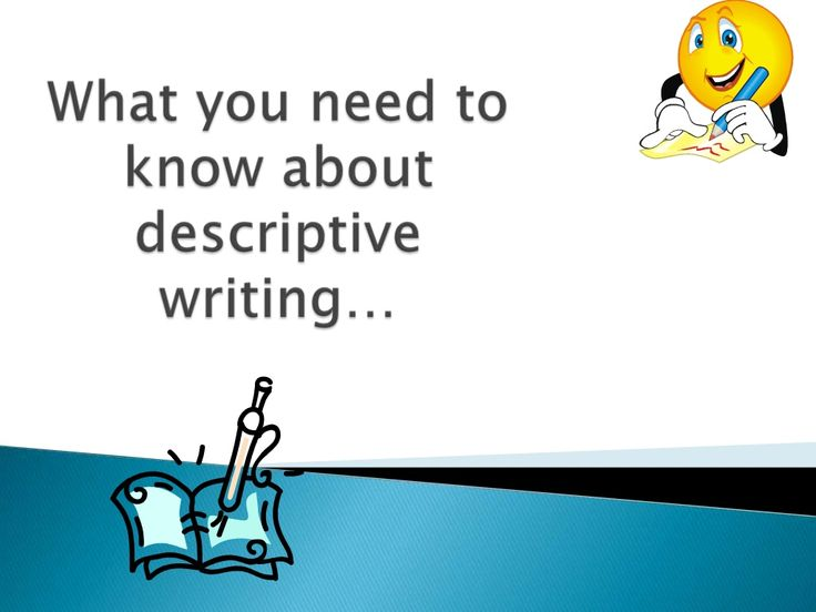 31 best Descriptive writing images on Pinterest | Teaching writing ...