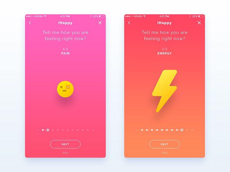 App WIP - UI/UX Design
