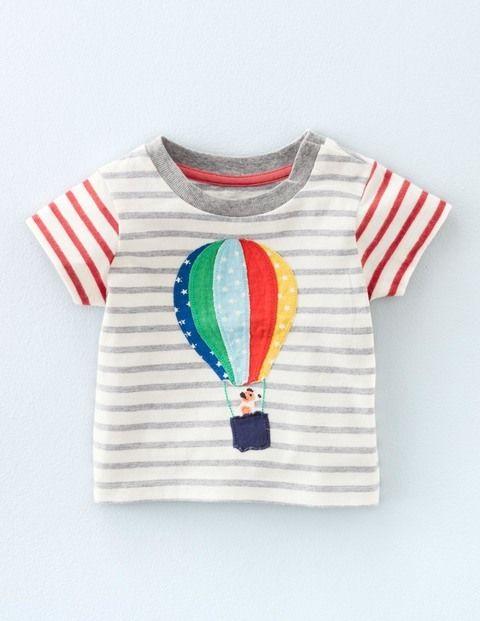 T-Shirt mit Fahrzeug-Applikation 71469 Motivshirts bei Boden