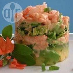 Prawn and avocado salad @ allrecipes.co.uk