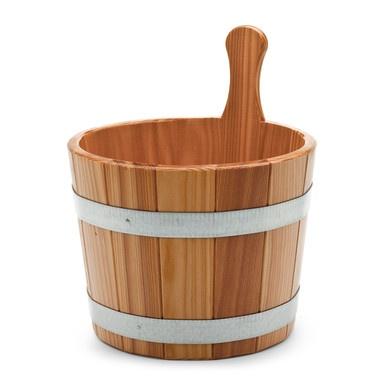 Sauna-Aufgußkübel Lärchenholz Badezimmerausstattung Baths - badezimmerausstattung