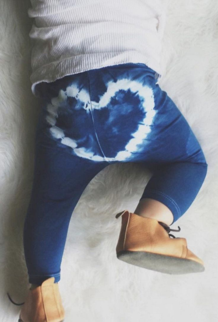 Heartbreaker Hand Dyed Leggings | BohoSundays on Etsy
