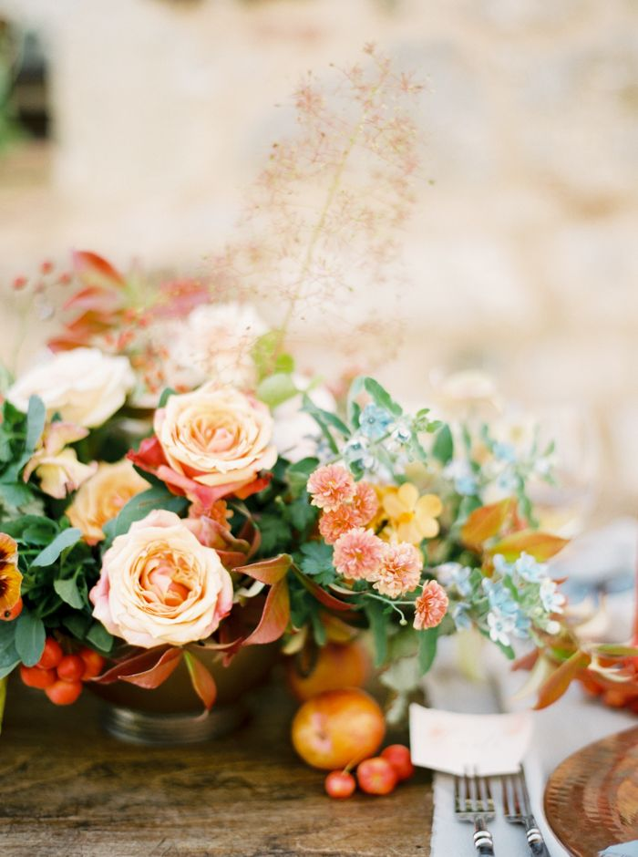 Perfect florals for a fall wedding!
