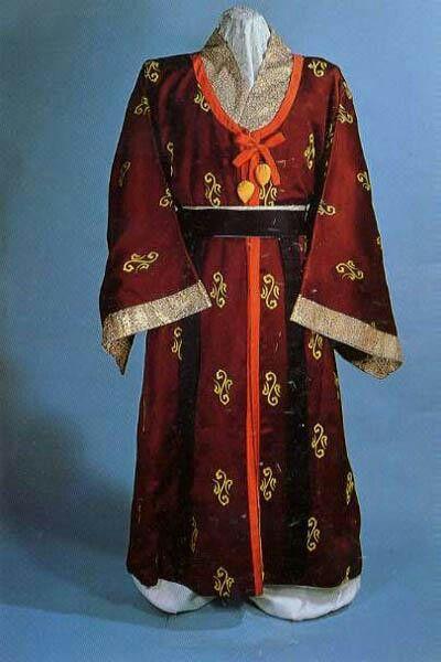 고구려 왕의 의복-Goguryeo king's clothes