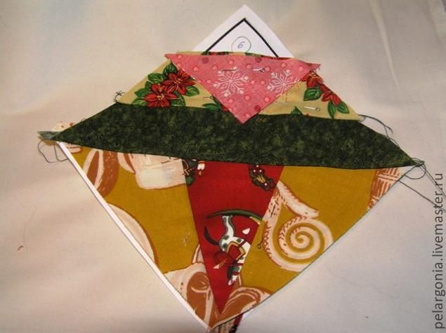 Шитье по бумаге в пэчворке - Ярмарка Мастеров - ручная работа, handmade