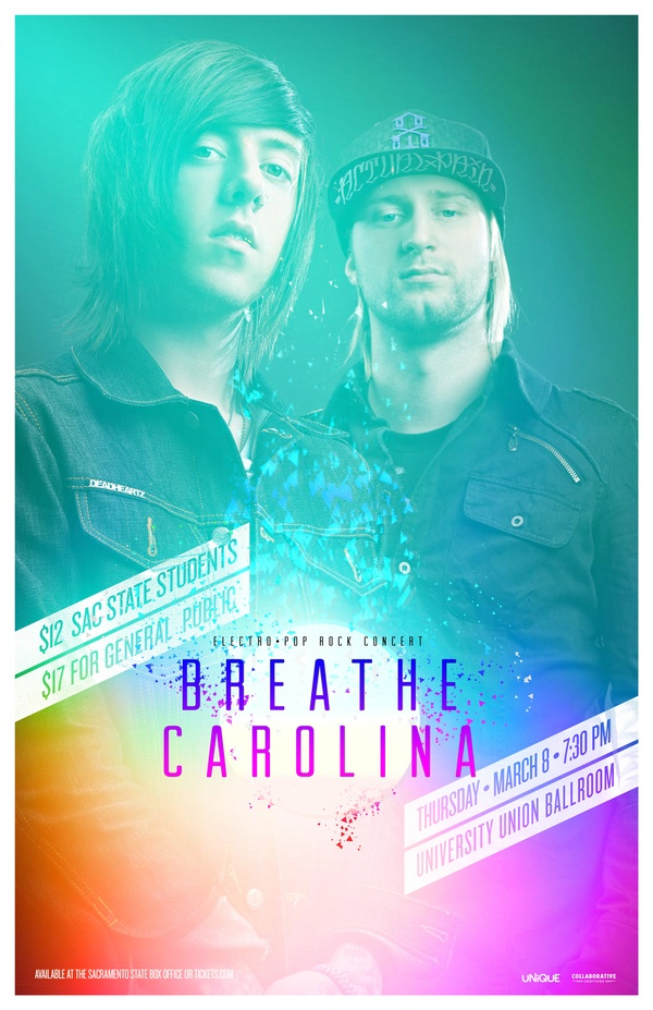 Breathe Carolina poster