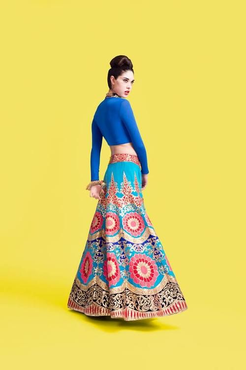 #fun #quirky #manisharora #lehenga