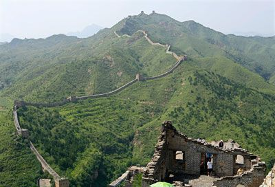 Walk the entire Great Wall. Okay, maybe not the whole thing.