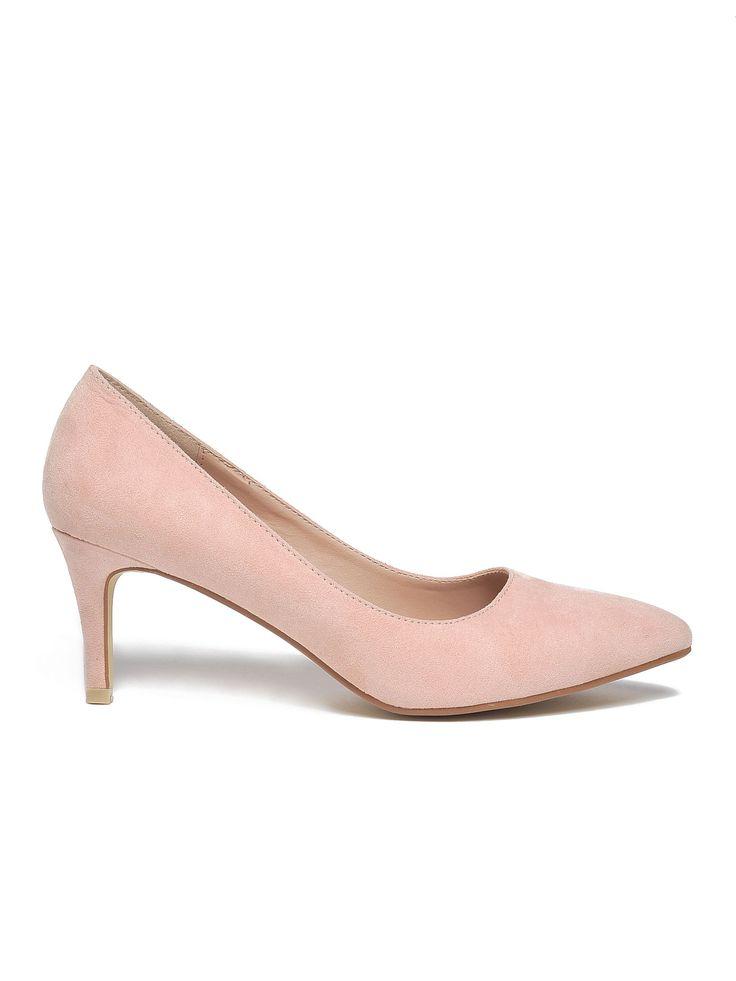 Comanda online, Pantofi Top Secret S025851 Rosa. Articole masurate, calitate garantata!