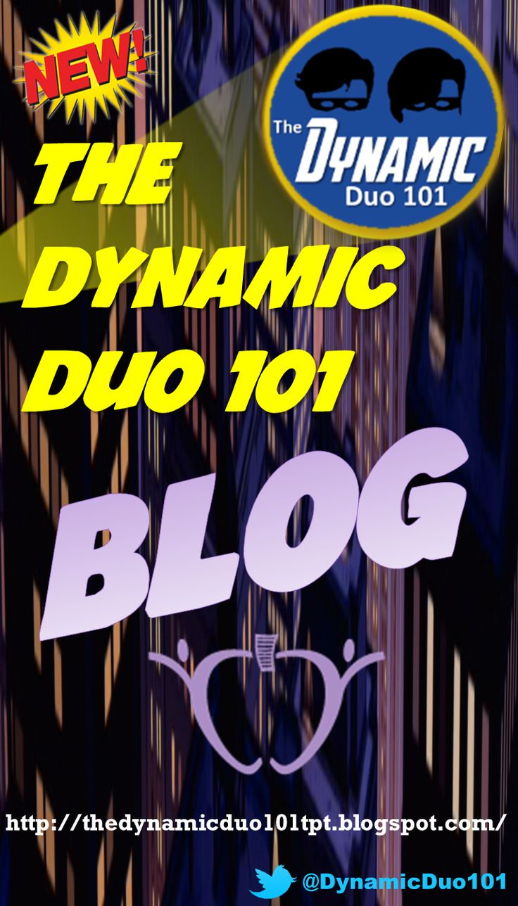 TheDynamicDuo101 on #TeachersPayTeachers