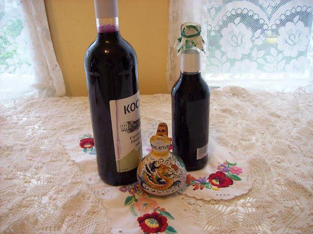 Györgyiségek : Otelló szőlőszörp recept