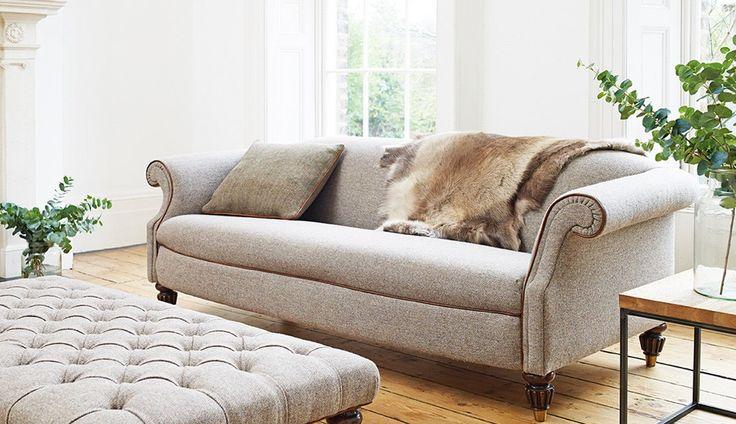 harris slate tweed sofa - Google Search