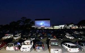 Go to a Drive-In Movie Theature!  Ft. Lauderdale's Thunderbird drive-in at swap shop.