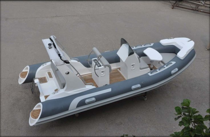 SeaFoam 17' Luxury RIB Boat w/ YAMAHA 115hp (Model SEA520A)