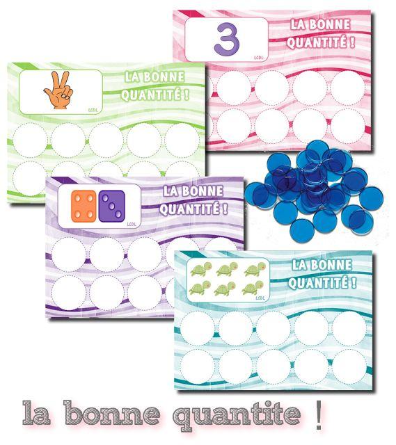 La maternelle de Laurène: La bonne quantité !