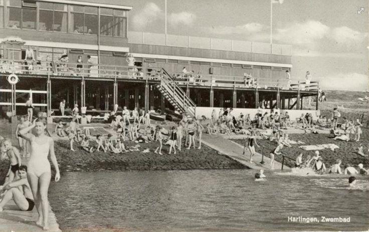 Harlingen - zeezwembad Westerzeedijk