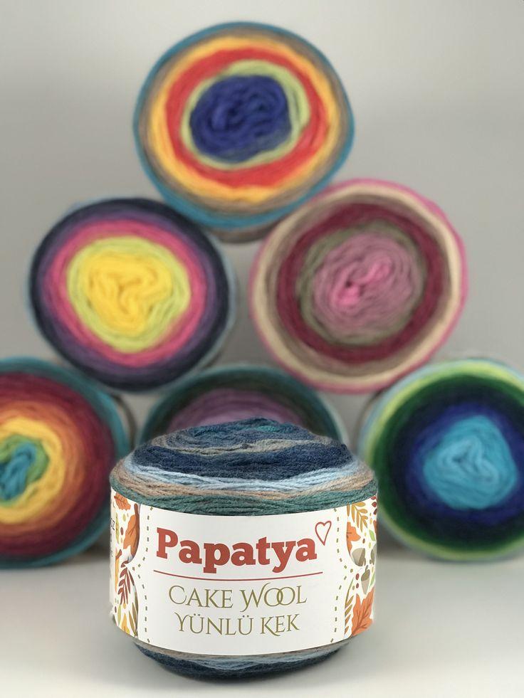 Papatya Cake - Wool/ Yünlü