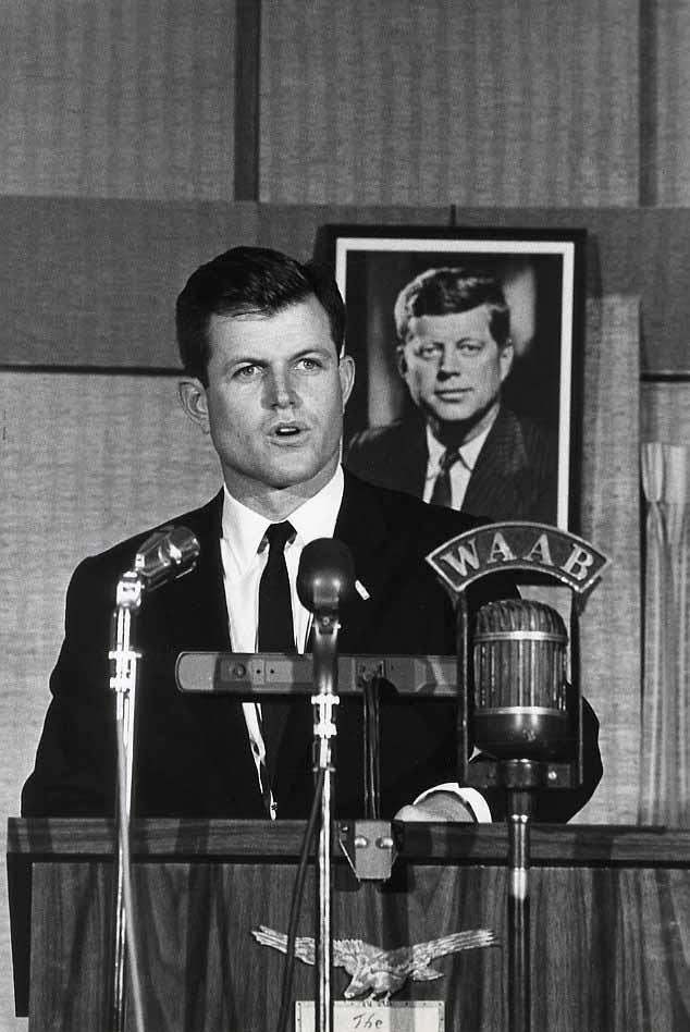 Ted (Edward) Kennedy, circa 1965