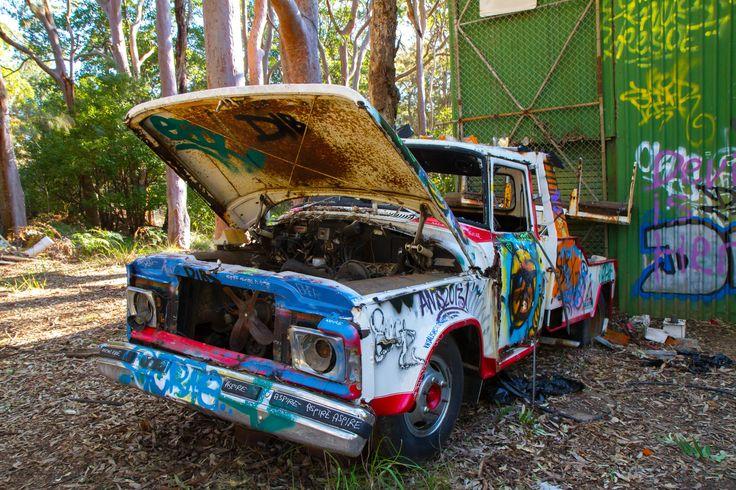 Abandoned Car by Merve Kozak / 500px