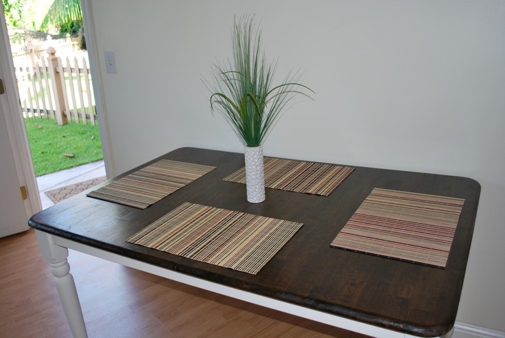 1000+ Ideas About Refinished Dining Tables On Pinterest