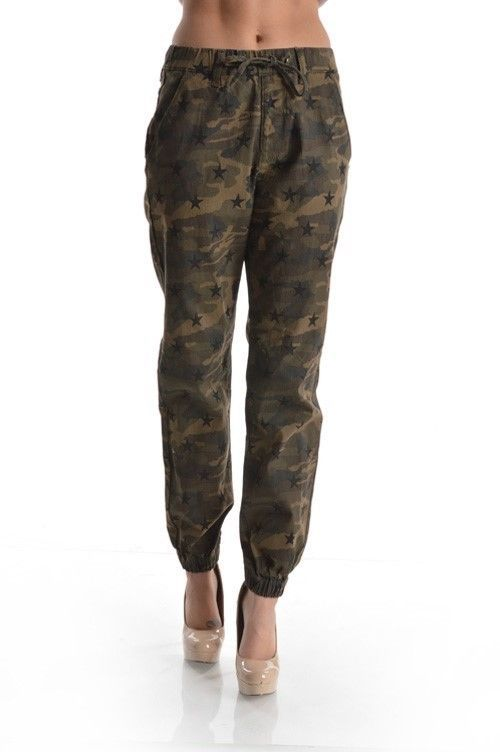 Perfect Ladies Womens Camouflage Camo Print Harem Hareem Dance Jogging Pants Trousers | EBay